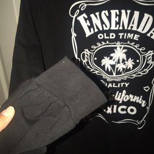 Shirts - Long sleeve black tee